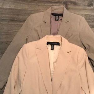 Apostrophe blazer bundle size 8 fully lined!